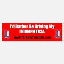 Toronto Triumph Club TR3A Bumper Stickers