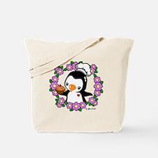 Pretty Penguin (4) Tote Bag