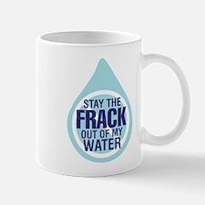 Funny No fracking Mug