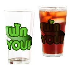 FAK YOU! Drinking Glass