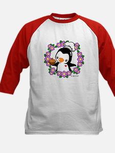 Pretty Penguin (4) Kids Baseball Jersey