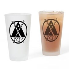 Escrima/Arnis logo Drinking Glass