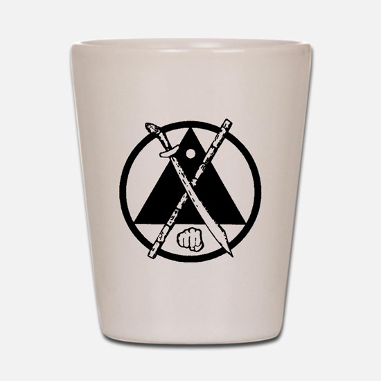 Escrima/Arnis logo Shot Glass