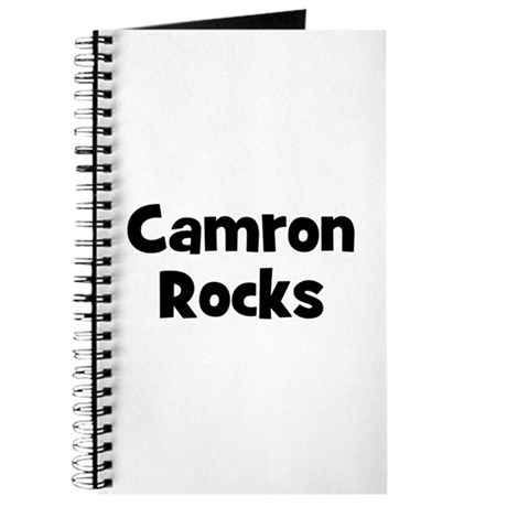 Camron Rocks Journal