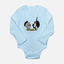 Serama Bantams Long Sleeve Infant Bodysuit