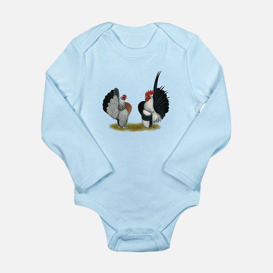 Serama Bantams Long Sleeve Infant Bodysuit