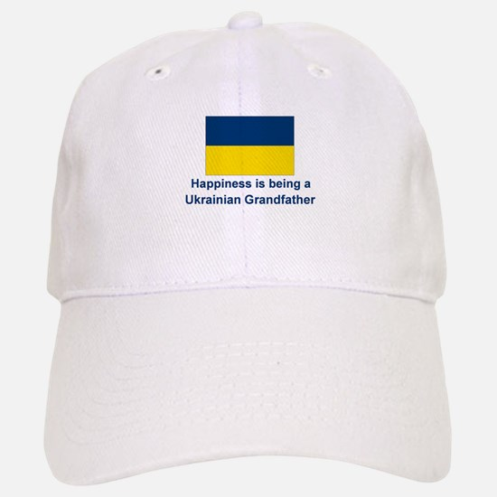 Happy Ukrainian Grandfather Baseball Baseball Cap