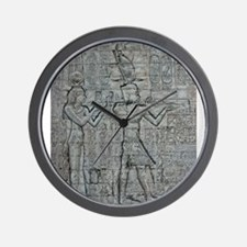 Cleopatra and Caesarion Wall Clock