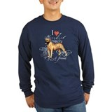 Boerboel Long Sleeve Dark T-Shirts