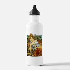 Art Nouveau Bicycle Sports Water Bottle