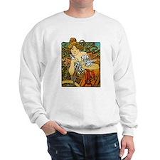 Art Nouveau Bicycle Sweatshirt
