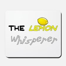 The Whisperer Mousepad