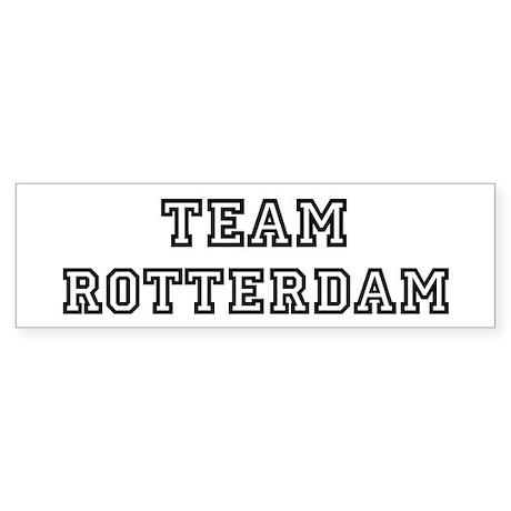 Team Rotterdam Bumper Sticker