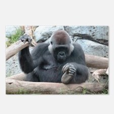 I LOVE GORILLAS Postcards (Package of 8)