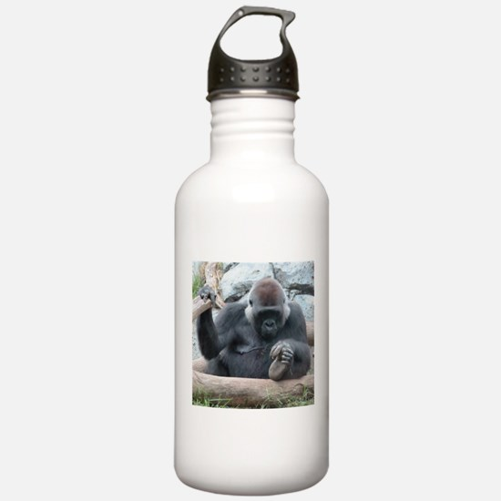 I LOVE GORILLAS Water Bottle