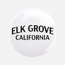 """Elk Grove California 3.5"""" Button"""