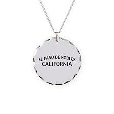 El Paso de Robles California Necklace