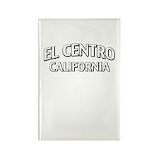 El Centro California Rectangle Magnet