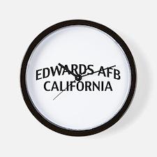 Edwards AFB California Wall Clock