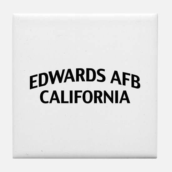 Edwards AFB California Tile Coaster