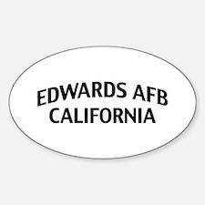Edwards AFB California Decal