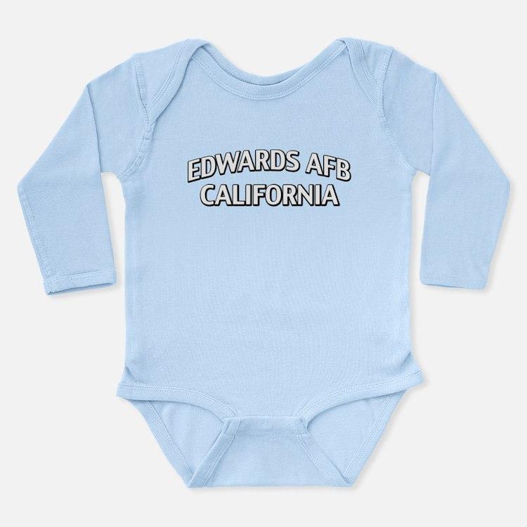 Edwards AFB California Long Sleeve Infant Bodysuit
