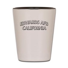 Edwards AFB California Shot Glass