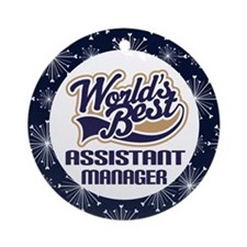 Assistant Manager Christmas Ornament Gift