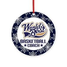 World's Best Basketball Coach Gift Ornament