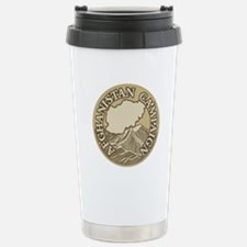 Afghanistan Campaign Stainless Steel Travel Mug
