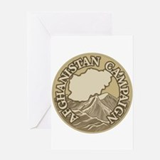 Afghanistan Campaign Greeting Card