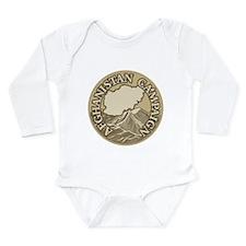 Afghanistan Campaign Long Sleeve Infant Bodysuit