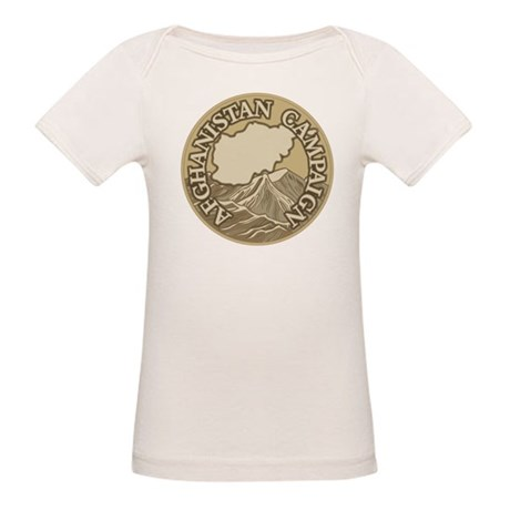 Afghanistan Campaign Organic Baby T-Shirt
