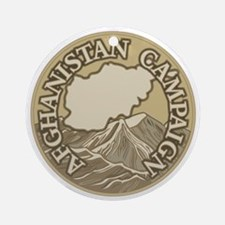 Afghanistan Campaign Ornament (Round)