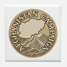 Afghanistan Campaign Tile Coaster