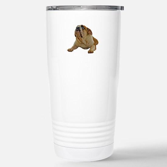 Bulldog Stainless Steel Travel Mug