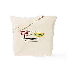 Occupy Tote Bag