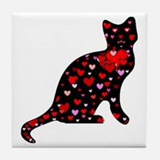 Cat Lover Tile Coaster