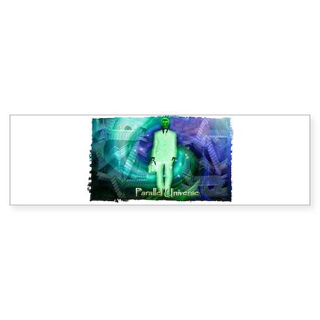 parallel universe Sticker (Bumper)