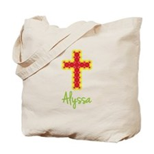 Alyssa Bubble Cross Tote Bag