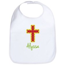 Alyssa Bubble Cross Bib