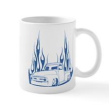 Flamed 56 Pickup Truck Mug