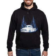 Flamed 56 Pickup Truck Hoodie