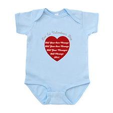Our 1st Valentine's Day Infant Bodysuit