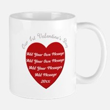 Our 1st Valentine's Day Small Small Mug