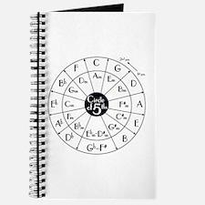 Cute Circle fifths Journal