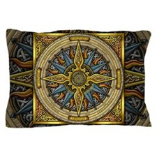 Celtic Compass Pillow Case