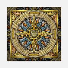 Celtic Compass Queen Duvet Cover
