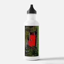 Caboose Whitehall, MI Water Bottle