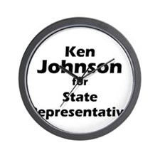 Ken Johnson for State Rep Wall Clock